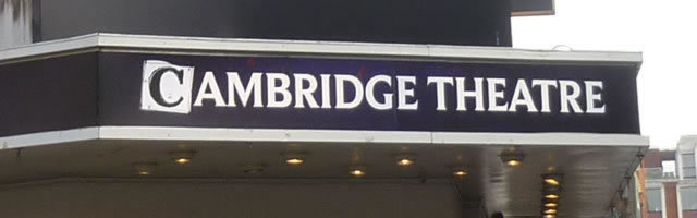 Upper Circle Cambridge Theatre Seating Plan London