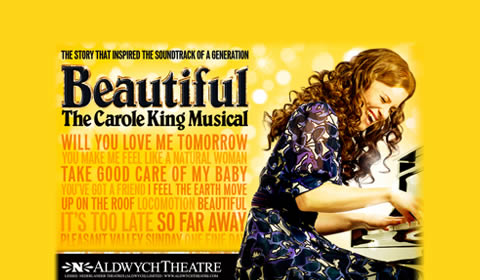 Poster of Beautiful at Aldwych Theatre