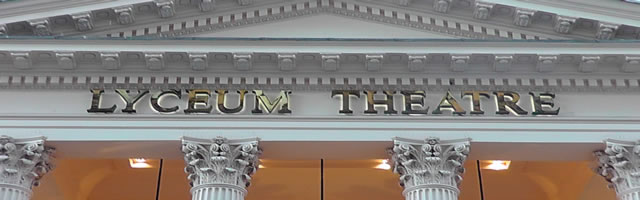 Lyceum Theatre title banner