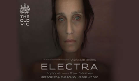 Poster of Electra at Old Vic Theatre