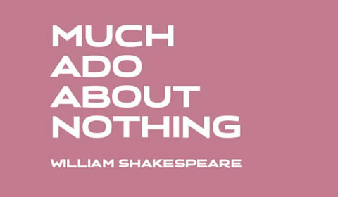 Poster of Much Ado About Nothing at Old Vic Theatre