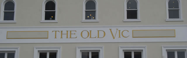 Old Vic Theatre title banner