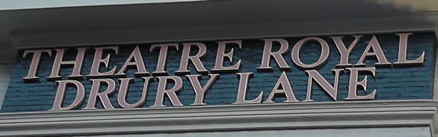 Theatre Royal Drury Lane title banner