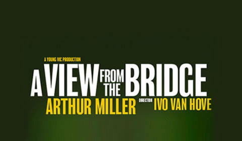 Poster of A View From the Bridge at Wyndham's Theatre