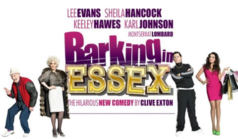 Poster of Barking In Essex at Wyndham's Theatre