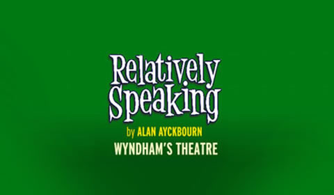 Poster of Relatively Speaking at Wyndham's Theatre