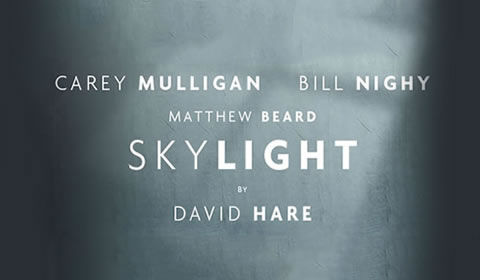 Poster of Skylight at Wyndham's Theatre