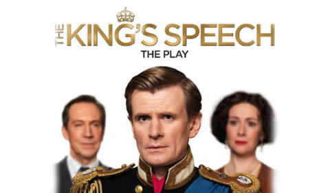 Poster of The King's Speech at Wyndham's Theatre